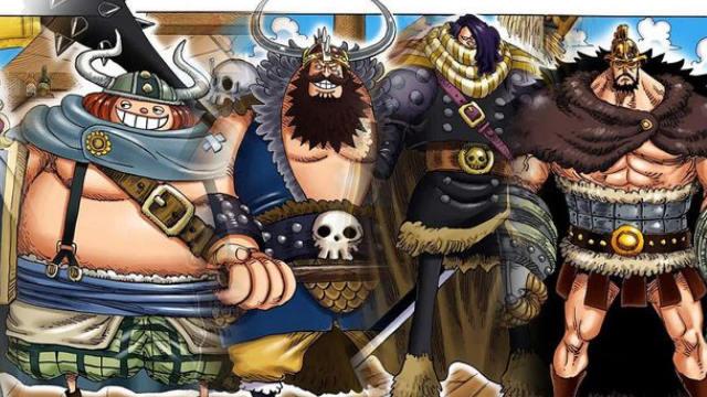 tripulación gigantes